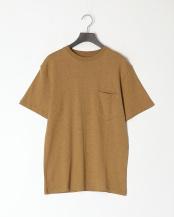 カーキ●レギュラーフィット 胸ポケットTシャツ○GDW-LCS-201101