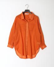 35/橙系F(オレンジ)●AN エアリービックシャツ○15190118