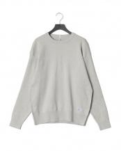 ライトグレー●カシミヤ混 長袖トップ メンズ○01-1113-0001