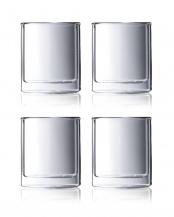 VIVA ダブルウォールストレートグラス スモールV225J 4個セット○V225J×2
