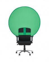 グリーン●「クロマキー背景スクリーン」 折り畳み式 WEB会議○PCA-CKSF01GN