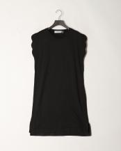Black●Brilliant Scallop Dress○PD087