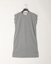 Gray●Brilliant Scallop Dress○PD087