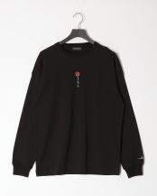 ブラックA●薔薇ロンTEE○02701501