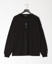 ブラックB●薔薇ロンTEE○02701501