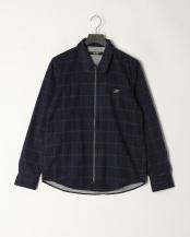 NAV●フロントジップヒートシャツ○NF4022