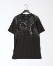 PUMA BLACK●ラン グラフィック キャット SS Tシャツ○519848