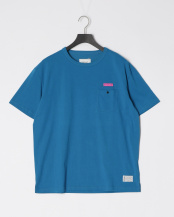 TURQUOISE●POK Tシャツ○8191-00610