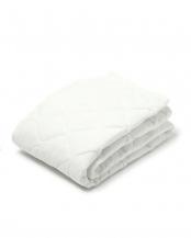 ホワイト●セミダブル 西川 ベッドパッド ポリエステル 洗える ウォッシャブル 抗菌防臭 やわらか○CM10057010W