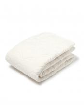 ホワイト●ダブル 西川 ベッドパッド コットン 綿 洗える ウォッシャブル 抗菌防臭  吸水○CM20077011W