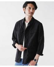 ブラック●ドレスファティーグジャケット ナノ・ユニバースメンズ(オリジナル)○6680112012