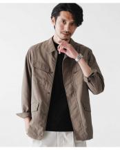 カーキ●ドレスファティーグジャケット ナノ・ユニバースメンズ(オリジナル)○6680112012