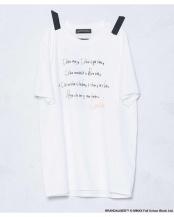 ホワイト●《WEB限定》BKS Tシャツ「Gentleman Flower」 ナノ・ユニバースメンズ(EC専売)○6740124022