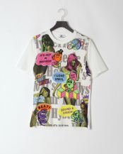 DIRTY WHITE●02201CT02 HYS PARTY TIME Tシャツ○02201CT0200