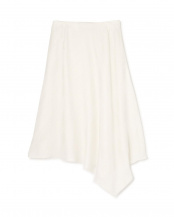ホワイト 《LE PHIL》モダンコンフォートアシメトリースカート le PHIL○5349120502