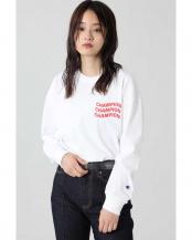 ホワイト●<ROSE BUD別注>ChampionロングスリーブTシャツ R/B(オリジナル)○6000213001