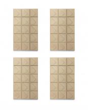 プラリネバニラ●Nordic Collection フレグランスブロック 4個セット○MRU-93-PV/MRU-93-PV/MRU-93-PV/MRU-93-PV