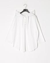 ホワイト●フーテッドビックTシャツ○20982