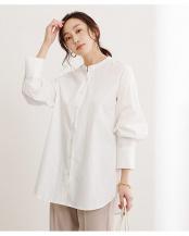 オフホワイト●バックタックチュニックシャツ○BXXU0870