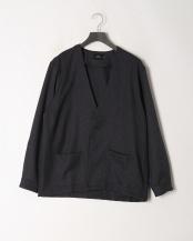 NAVY●ツムギ―トツイードシャツカーディガン○5156534