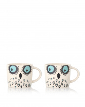 MUOW Owl Mug2個セット○15003300/15003300