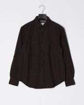 黒系チェック●ブークレチェックシャツ○0-0086-5-51-006