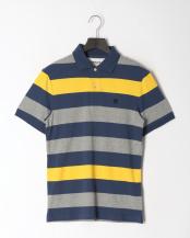Dark Denim YD●AF SS Rugby Stripe○TB0A1LT1G661