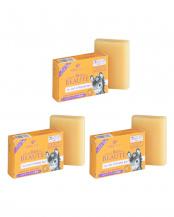 オーガニック ロバミルクソープ オレンジ&ラベンダー3個セット○4935137902032×3