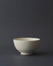 白●姫茶碗 粉引○WDH-0117