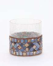 モザイクガラスベース ネイビー○RB08NV
