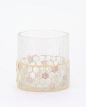モザイクガラスベース ホワイト○RB08WH