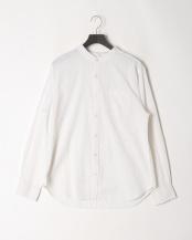 シロ●メンアサストレッチバンドカラーシャツ○314025H