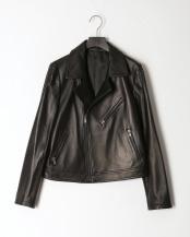 ブラック●ラムレザージャケット○F-19873