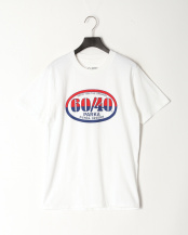White●SD 60/40 LOGO TEE○1508