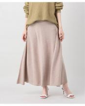 ベージュ●flare Knit スカート○20080922400010