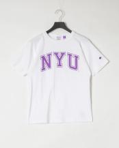 ホワイト●NYU 半袖 Tシャツ○C5-R301
