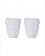ホワイト●ガラスタンブラー ボッレ 2個セット○10717443