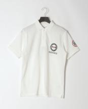 ホワイト●ポロシャツ<スポーツモチーフ>○PH60213