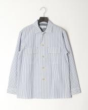 白系柄物●サッカーシャツJK○0-0804-1-51-040