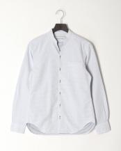 白系柄物●Vネックスタンドシャツ○0-0804-1-51-051