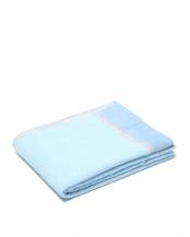 ブルー●ひんやり 洗える 合繊肌掛けふとん(シングル)○FQ09006500