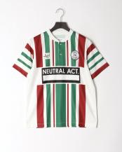 GREEN●フットボールゲームシャツナンベイ○8191-04310