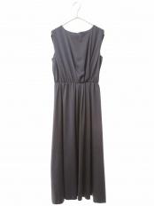 ブルー●ヴィーナスサテンタックギャザードレス a.v.v○KBEGL14099