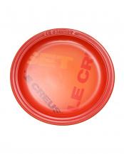 ラウンド・プレート LC 23cm ビッグロゴ オレンジ○60201230901613