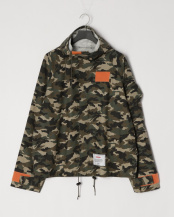 GREEN● camouflage parker○G04BL221