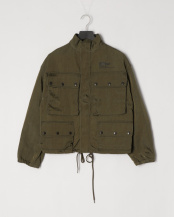 GREEN● M-65 short jacket○G04JK121