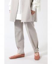 ベージュ●裾タックパンツ R/B(オリジナル)○6001130024