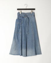 SAX●Flare Skirt○41101231