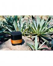 ブラック×ゴールド●持ち運べるのにハイスペックな空気清浄機 Luft Cube ブラックゴールド○LC-BG