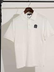 ホワイト●コラボポロシャツ / FIDELITY×MK HOMME(WEB限定カラー) MK MICHEL KLEIN homme○MKKGI30095